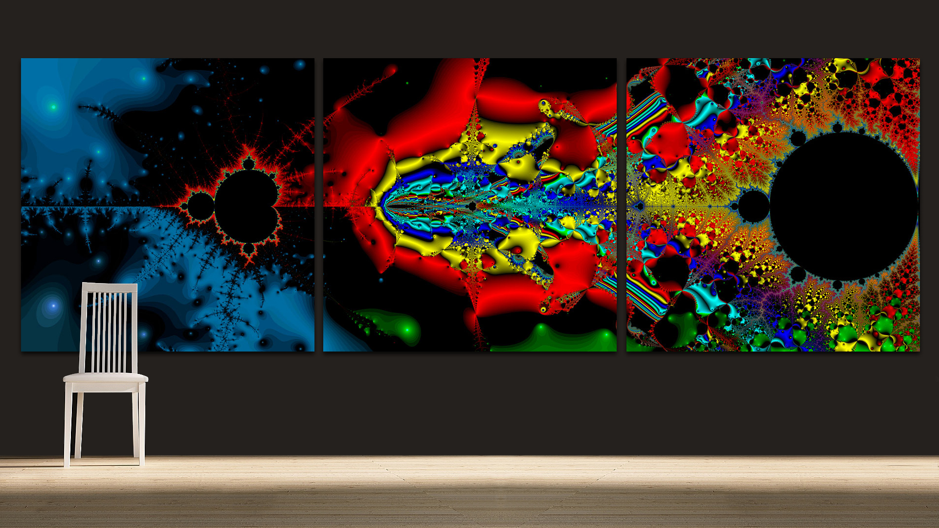 Creative Force Triptych by Don Bristow