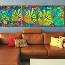Coral Reef on Acrylic – Installation