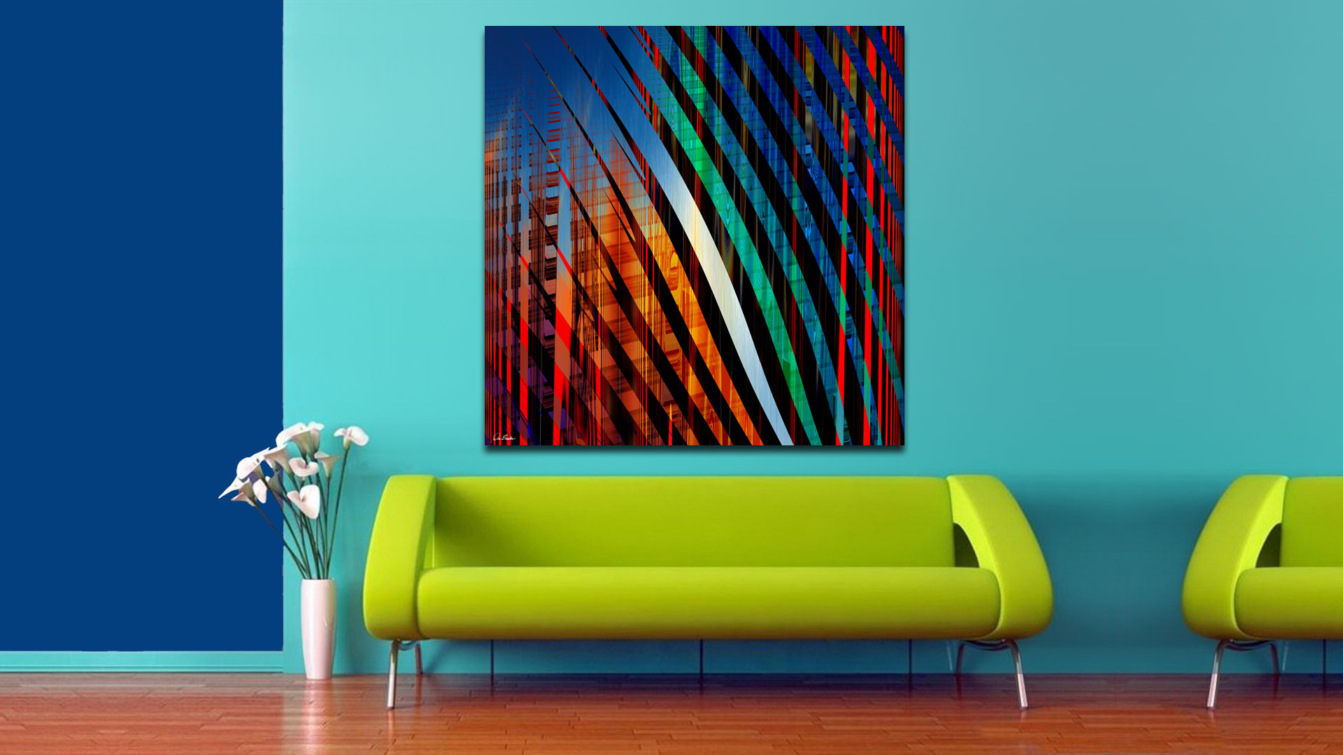 Cityscape Three by Don Bristow