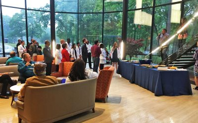 Patio Party at the Ben and Maytee Fisch College of Pharmacy