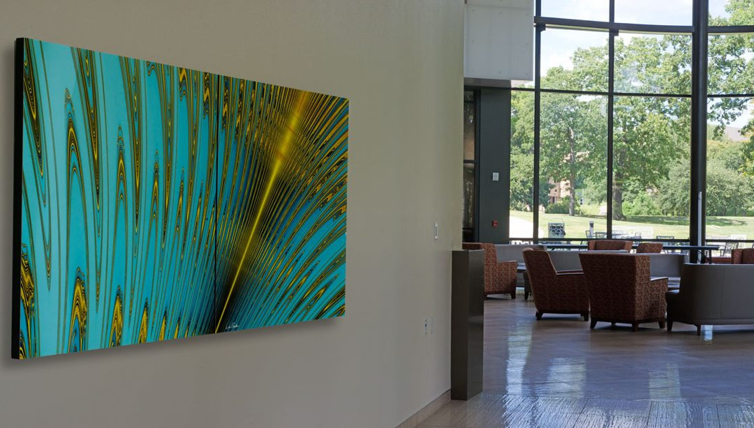 River of Life installed at the Ben and Maytee Fisch College of Pharmacy